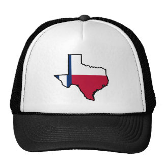 Texas State Hat - Stripes