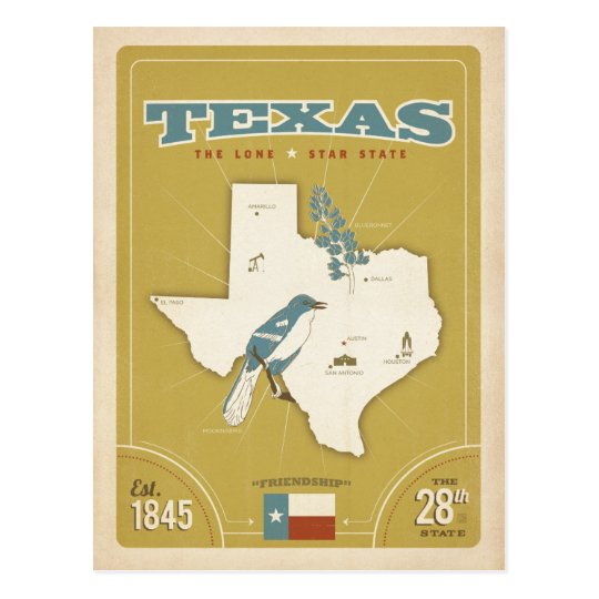 Texas State Map | The Lone Star State