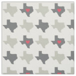 Texas State Pattern Fabric- Neutral Colours Fabric