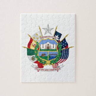 Texas State Seal 2 Jigsaw Puzzle