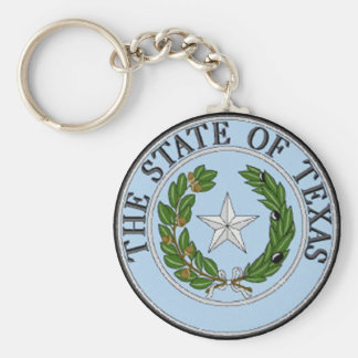 Texas State Seal Keychain