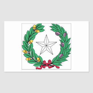 Texas State Seal Stickers