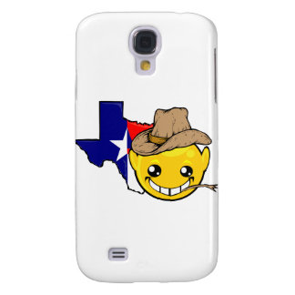 texas state smiley face samsung galaxy s4 cases