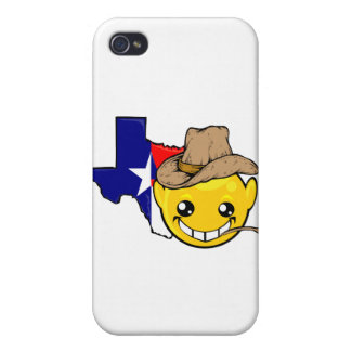 texas state smiley face iPhone 4 cases