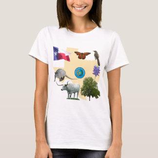 Texas State Symbols T-Shirt