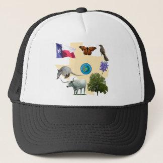 Texas State Symbols Trucker Hat