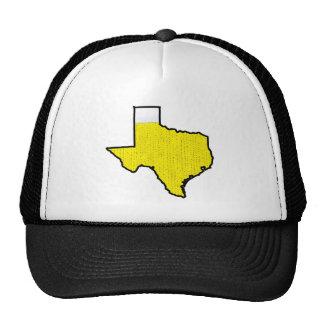 Texas State Trucker Hat - Beer