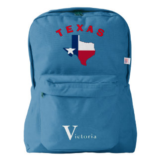 Texas State with Star Backpack