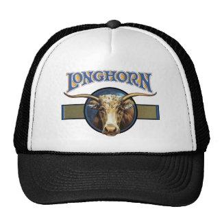 Texas Steer Longhorn Cap
