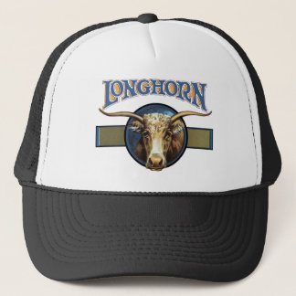 Texas Steer Longhorn Trucker Hat