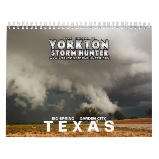 TEXAS Storm Chase 2015 Wall Calendars