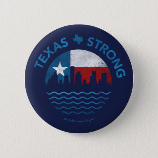 Texas Strong Hurricane Harvey Button