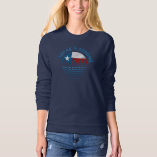 Texas Strong Hurricane Harvey Crew Neck Sweatshirt