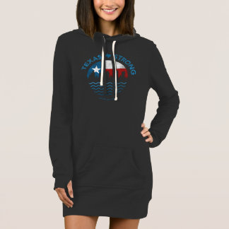 Texas Strong Hurricane Harvey Women's Dress Hoodie