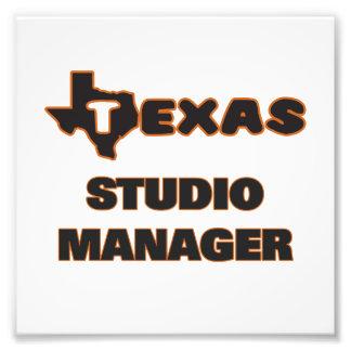 Texas Studio Manager Photo Print