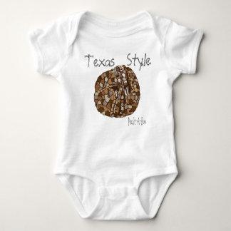 Texas Style Peek-A-Boo infant Shirt
