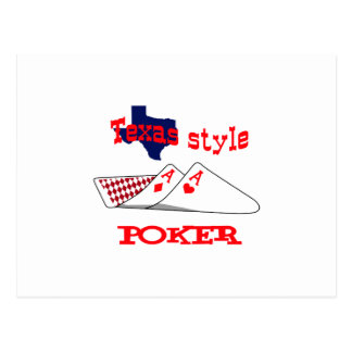 Texas Style Poke Postcard