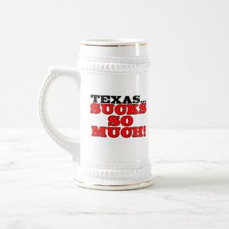 Texas...sucks so much! beer steins