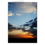Texas Sunset #1 Greeting Card