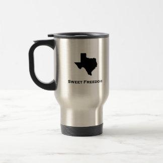 Texas Sweet Freedom Travel Mug