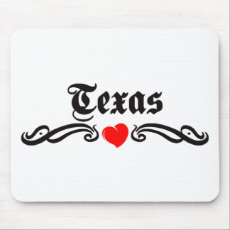 Texas Tattoo Mouse Pad
