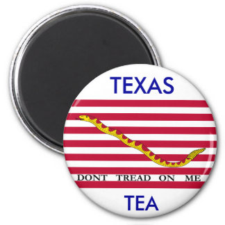 TEXAS TEA, Dont Tread On Me Magnet