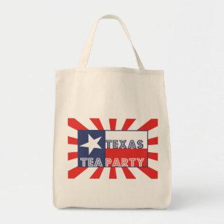 Texas Tea Party Canvas Bags