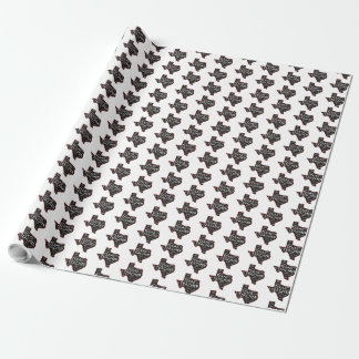 Texas Teacher Wrapping Paper