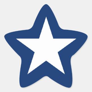 Texas/Texan Flag, Lone Star Star Sticker