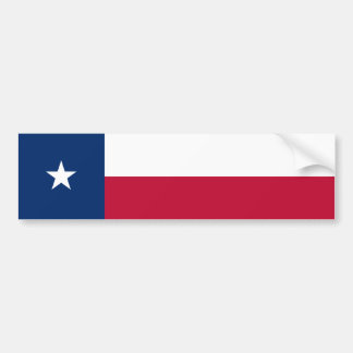 Texas/Texan State Flag, United States Bumper Sticker