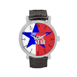Texas the Lone Star Wristwatches