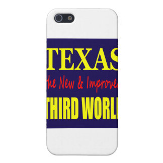Texas the New & Improved THIRD WORLD iPhone 5 Case