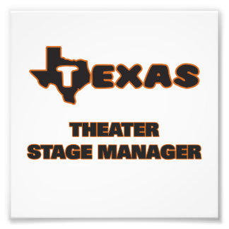 Texas Theater Stage Manager Photograph