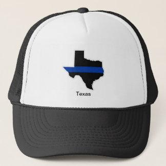 Texas Thin Blue Line Trucker Hat