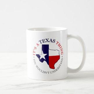 Texas Thing Coffee Mug