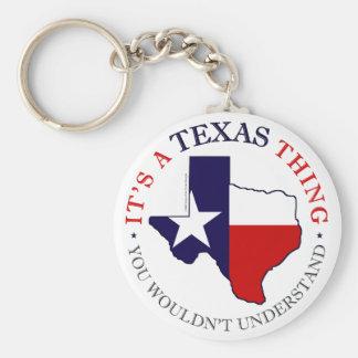 Texas Thing Key Ring
