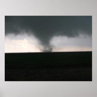 """""""Texas Tornado"""" Poster"""