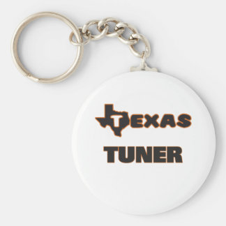 Texas Tuner Basic Round Button Key Ring