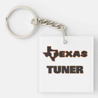 Texas Tuner Single-Sided Square Acrylic Keychain