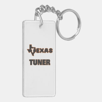 Texas Tuner Double-Sided Rectangular Acrylic Key Ring