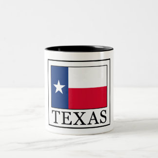 Texas Two-Tone Coffee Mug