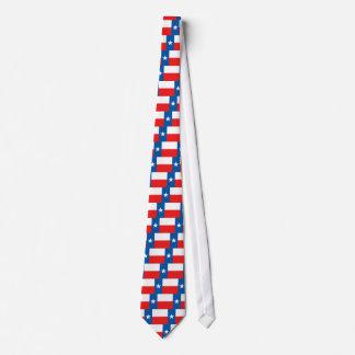 Texas USA State Flag Tie