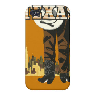 Texas USA Vintage Travel cases iPhone 4 Case