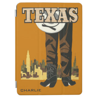 Texas Vintage Travel custom name device covers
