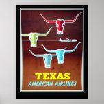 Texas Vintage Travel  poster