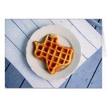 Texas Waffle Note Card