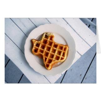 Texas Waffle Notecard Cards