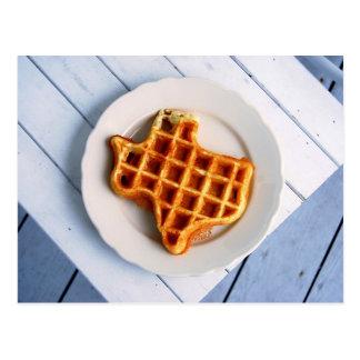 Texas Waffle Postcard