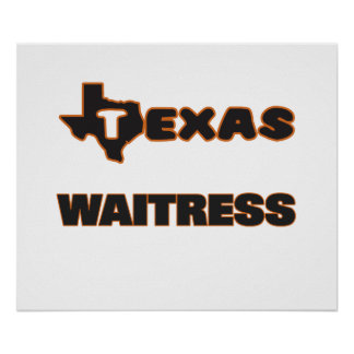 Texas Waitress Poster