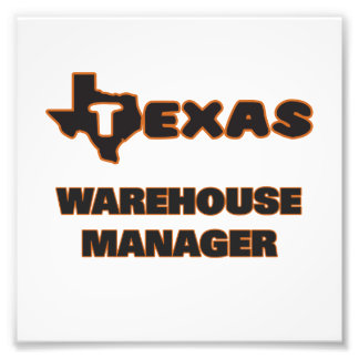 Texas Warehouse Manager Photo Print
